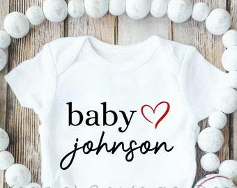 Custom Monogram OnesieCustom Baby OnesiesCustom Baby BodysuitsCustom OnesieBaby Shower GiftBaby Birth AnnouncementGender Reveal