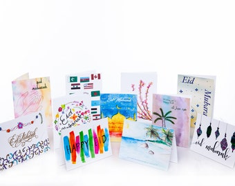 Eid Greeting Cards - R-Zu Water Project