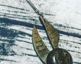 Quidditch Snitch Eco Tote Bag Certified Organic