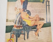 1959 Vintage Pepsi-Cola Ad LIFE magazine