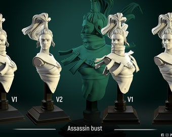 Cult assassin Bust - by White Werewolf Tavern