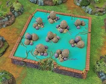 Breeding pool - 6mm upto 32mm Brave  New Worlds Wasteworld Gasland Scatter Terrain Terrain D&D, DnD, Warhammer 40K Pathfinder Sci-fi