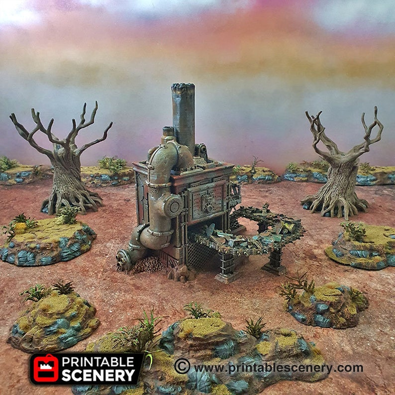 Recycling tower   15mm 20mm 28mm 32mm Brave  New Worlds image 0