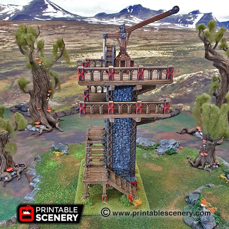Skydock 15mm 28mm 32mm  Dwarves Elves and Demons  D&D image 0