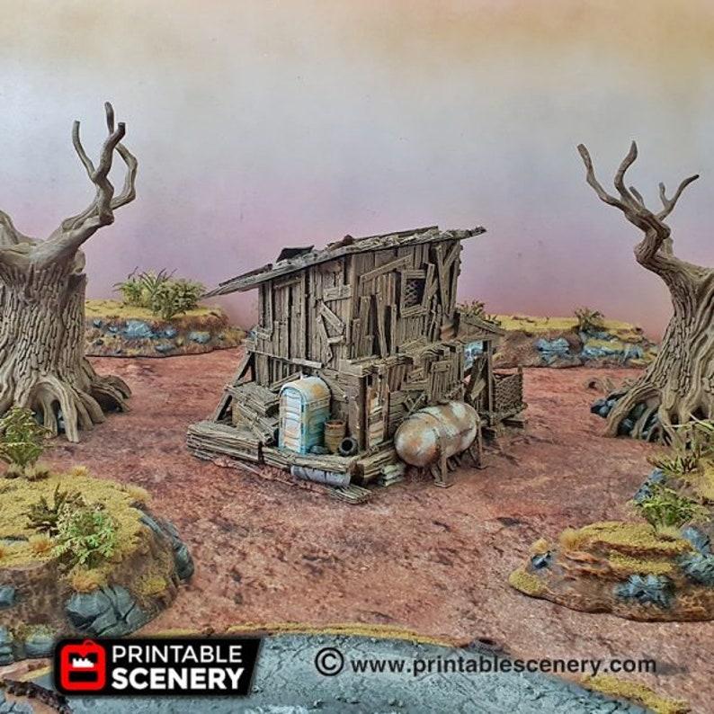 The Desert Shanty  15mm 20mm 28mm 32mm Brave  New Worlds image 0