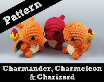 Charmander Amigurumi Crochet Tutorial Part 1 - YouTube | 270x340