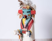 Early Hopi Kachina Doll with Bell
