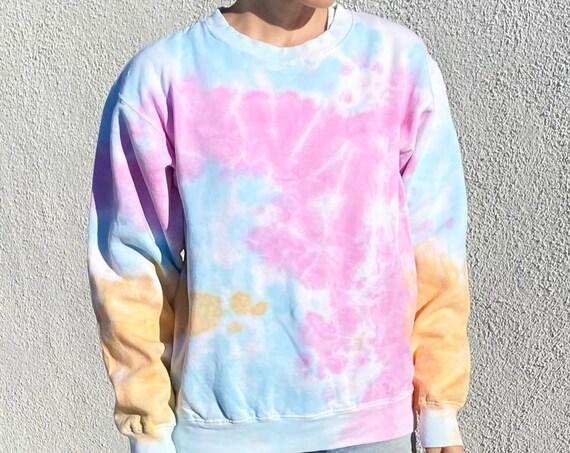 Pastel Tie Dye Sweatshirt - Unisex