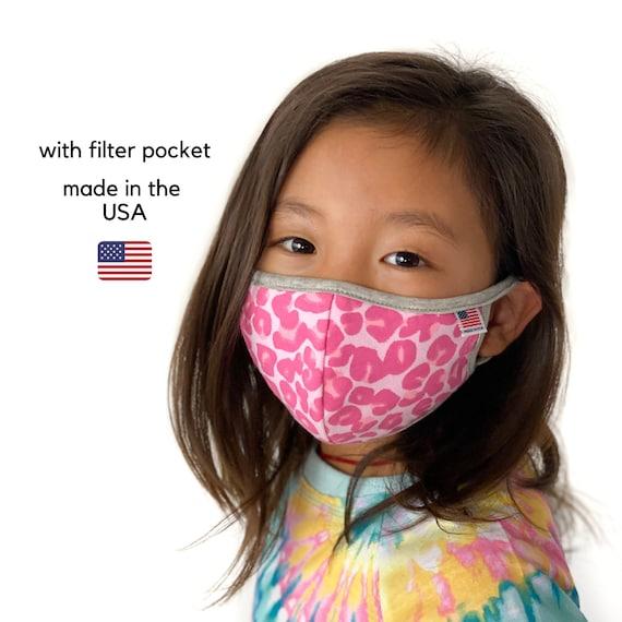 Kids Filter Pocket Face Masks