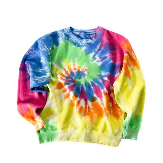 Rainbow Tie Dye Sweatshirt - Unisex