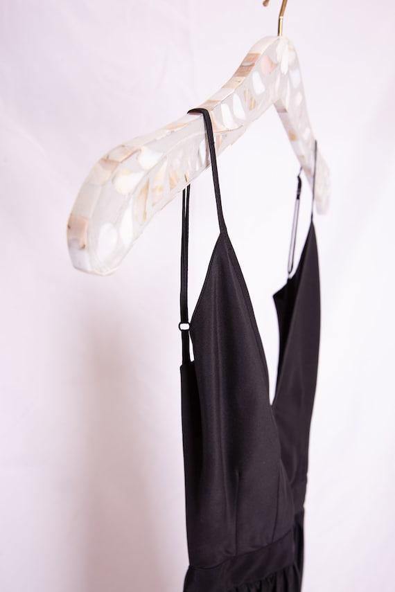 Open Back Black Dress - image 8