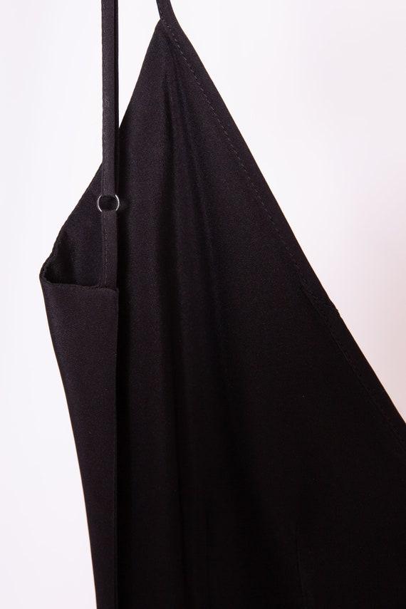 Open Back Black Dress - image 4
