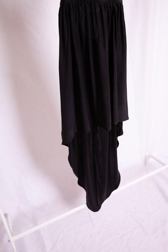 Open Back Black Dress - image 6