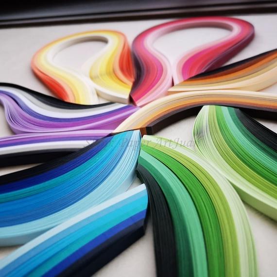 Quilling,Quilling art,Paper art,Quilling paper strips 3mm5mm,120 strips,High quality 120 gsm,Paper art,Paper quilling,Paper quilling art