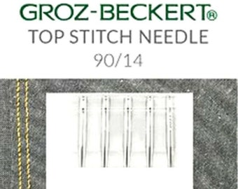 100 Groz-Beckert UY118GAS FLX118A Flat Seamer Sewing Machine Needles-65//9