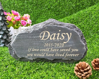 Pet Memorial Stone and Grave Marker
