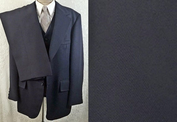 70's Three Piece Men's Suit by Bankers Hall