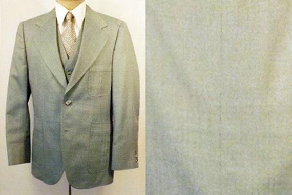 Vintage 70's Men's 3pc Suit by Anderson Little Siz