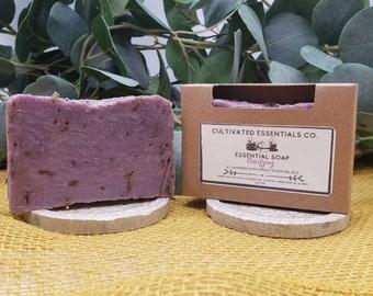 Lavender & Patchouli Soap Bar