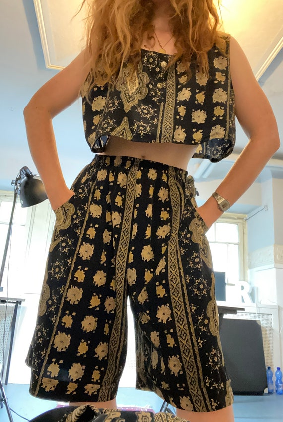 Awesome Vintage Early 90s Three Piece Set, Size M,