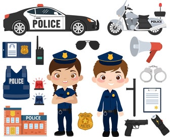 Police Clipart PNG Images   Vector and PSD Files   Free Download on Pngtree