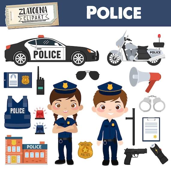 Police Officer Coloring Book Car Clip Art - Finger - Policeman Cartoon  Transparent PNG