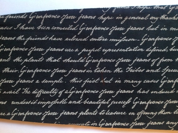 GIANFRANCO FERRE Black White Pattern High Waist S… - image 10