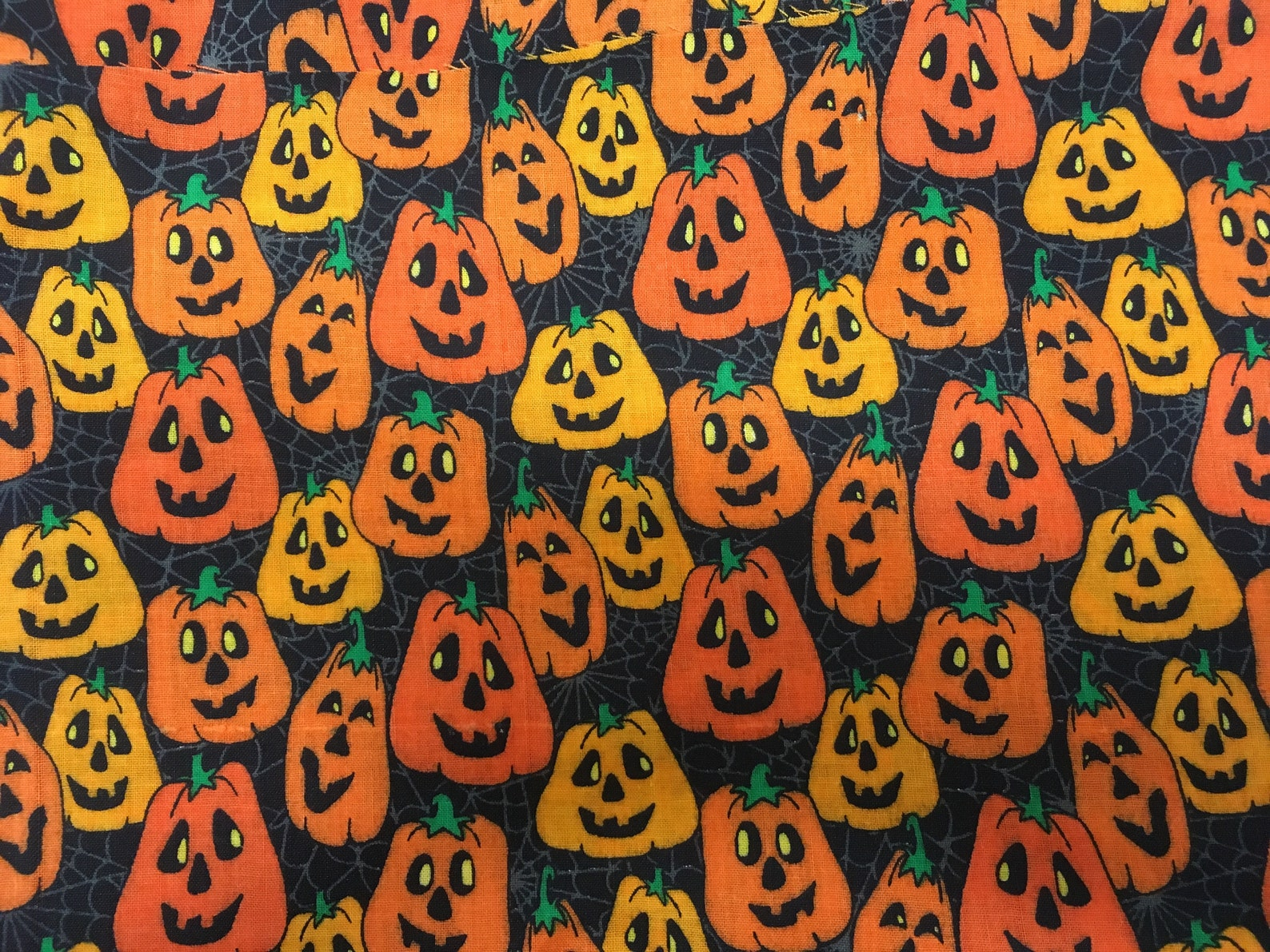 Jack O Lantern Face Masks Page Four