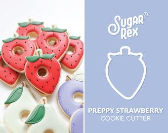 Preppy Strawberry Cookie Cutter