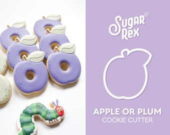 Apple or Plum Cookie Cutter