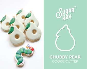 Chubby Pear Cookie Cutter