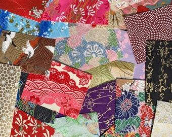 Chiyogami Scrap Paper Pack - Japanese Washi Paper   Scrapbook Art Paper
