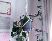 Macrame Plant Hanger, Halo