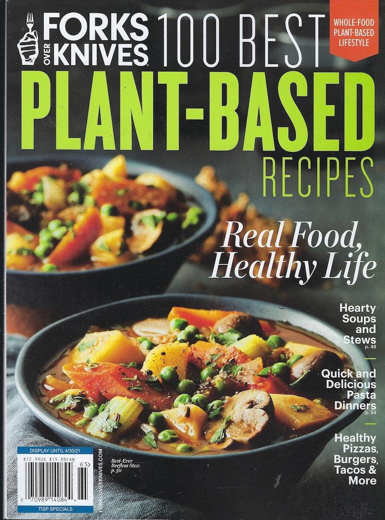 Forks Over Knives  100 Best Plant-Based Recipes  2021 image 0