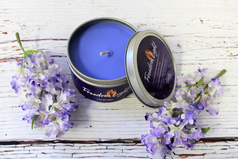 Freedom Light Lavender Scented Candle