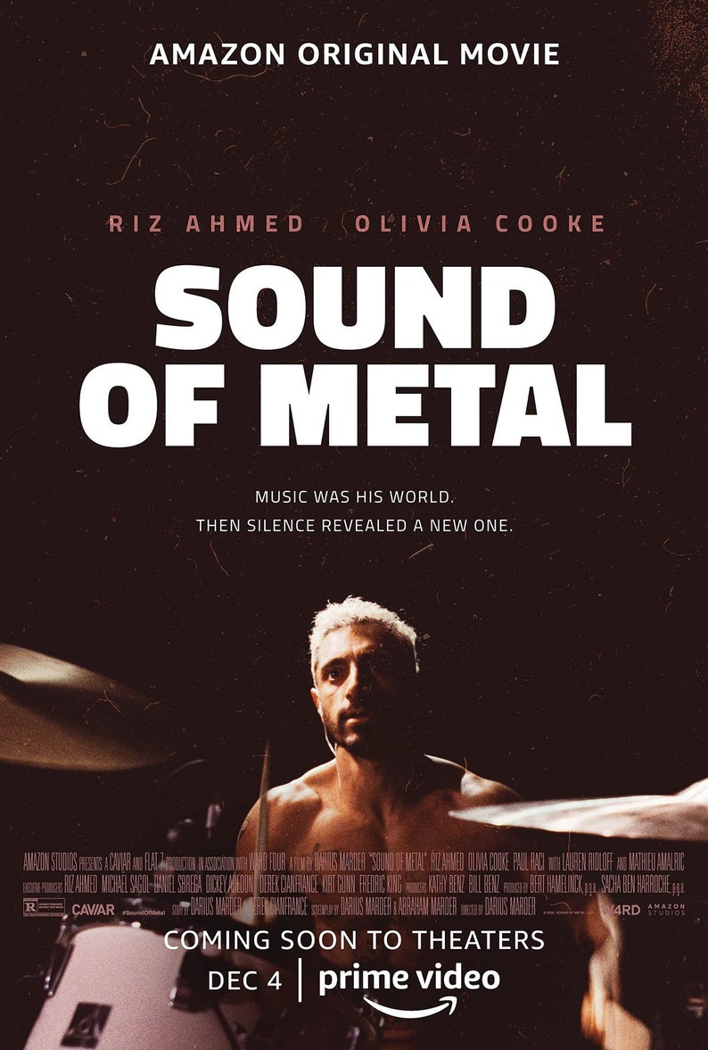 Sound of Metal 2020 Darius Marder Riz Ahmed Movie Poster image 0
