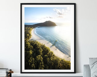 Aerial Photography, Queensland Wall Art , Living Room Decor , Cairns , North Queensland, Above Room Decor, Art Print