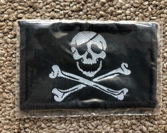 Flag With Swords Pin Enamel Pins Vintage Pirate Pirates Biker Motorcycle Flags