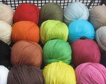 ALGARVE GRANDE pure cotton by Austermann - for knitting and crocheting - wool and yarn