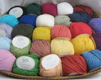 Yarn package 27 colors RAVENNA 27 x 50g cotton yarn by ONline wool - knitting and crocheting wool knitting yarn crochet yarn patchwork amigurumi