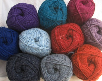 House wool 100 g balls country house wool for knitting and crocheting - Wool and yarn Schoeller
