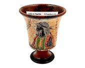 Pythagorean cup,Greedy Cup 11cm,Shows Pythagoras