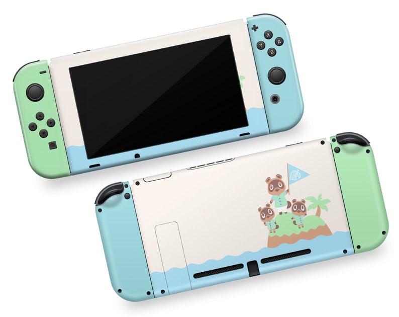 Animal Crossing New Horizons Nintendo Switch Vinyl Skin Green Etsy