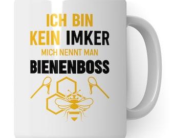 Cup beekeeper, bee beekeeper gift mug, beekeeping honey bee coffee mug gift idea, honey beekeeping beekeeper bee bee funny