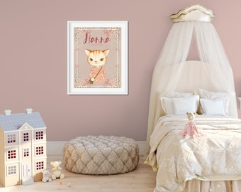 personalized poster for the nursery