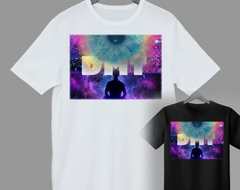 Nebula Unisex Short Sleeve Jersey T-Shirt with Tear Away Label