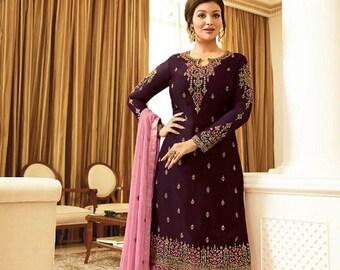 Mahgul Eid Lawn 2018 Original Pakistani Designer Suit Dress Ethnic Eid Sale Salwar Kameez Buy Now Free Shipping SALE Free Shipping Silk Z.S