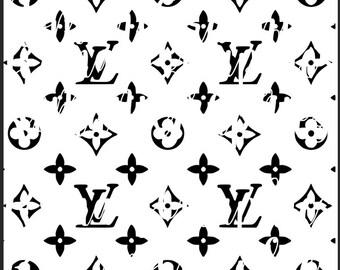Louis Vuitton Cricut Etsy