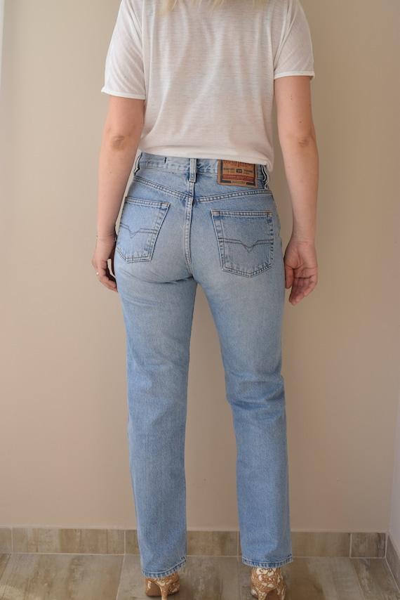 Vintage Diesel Jeans, Mom Jeans, High Waisted Jean