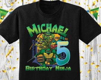 Ninja Birthday Party Ninja Party Supplies Ninja Birthday Ninja Shirt